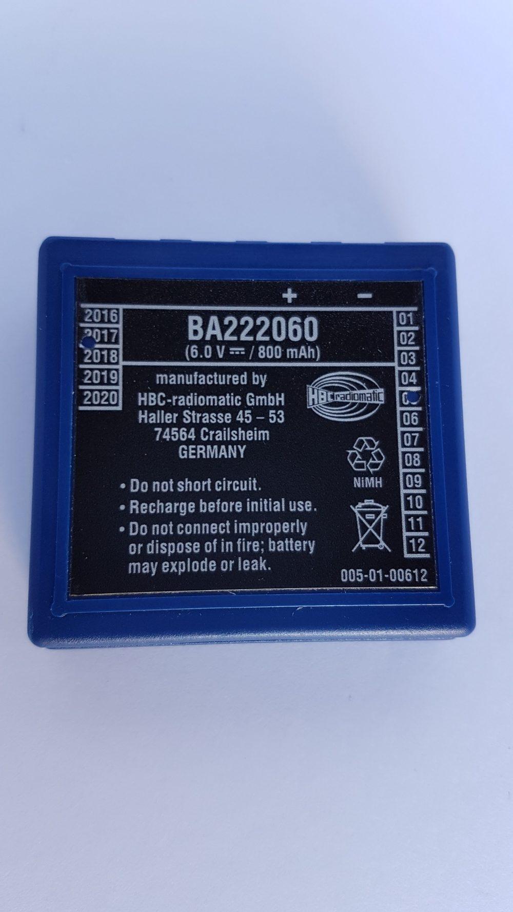 HBC Battery BA222060